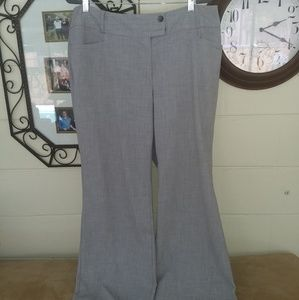 Let Gray Dress Pants Rafaella sz 18W